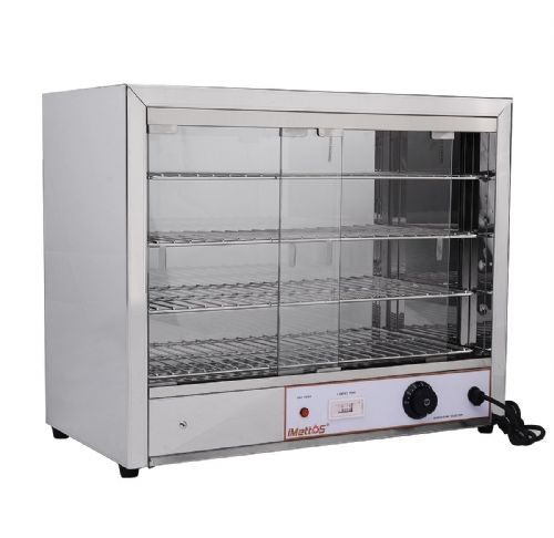 Pie Cabinet & Warmer 4 Shelves - FW-580